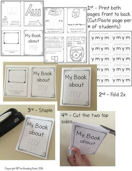Sight Word Booklets - Second