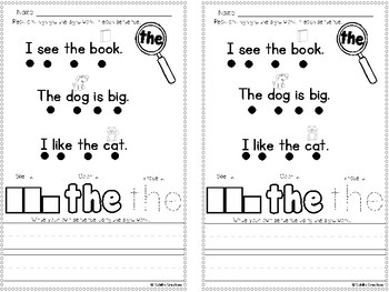 Sight Word Books!
