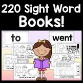 Sight Word Books {100 Sight Word Readers!} {Sight Word Emergent Readers}