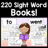 Sight Word Readers -220 Books! {Editable & Interactive!} {Sight Word Practice}