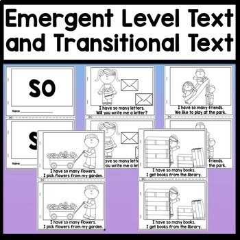 Sight Word Books for First Grade {100 Emergent Readers for First Grade!}