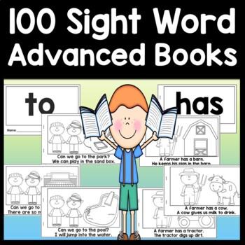 Sight Word Books for 1st Grade {100 Advanced Books!}