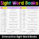Sight Words Worksheets - Interactive Books Bundle