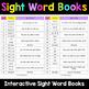 Sight Words Worksheets - Sight Word Books Bundle
