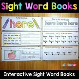 Sight Words Worksheets - Sight Word Books Bundle