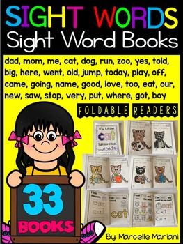 Sight Word Books- Sight Word Readers