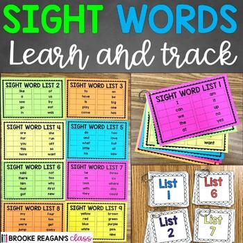 Sight Word Books