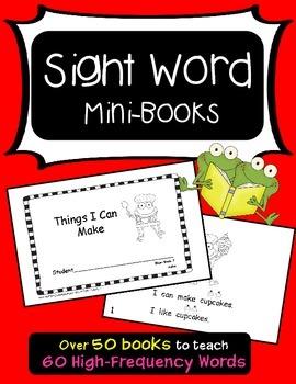 Sight Word Mini-Books (Aligned with Treasures)