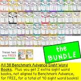 Sight Word Books Bundle ( For Benchmark Advance Kindergarten Series)