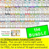 Sight Word Books Bundle ( For Benchmark Advance Kindergart