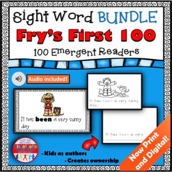Sight Word Books Bundle - First 100
