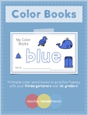 Sight Word Book - Color Words - BLUE
