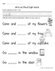 Sight Word Books: Companion Pages - Sight Word Books Set 5:me,for,they,come,look