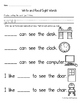 Sight Word Books: Companion Pages for Sight Word Books Set 3:you,are,go,have,she