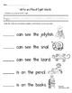 Sight Word Books: Companion Pages - Sight Word BooksSet 4: