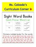 "Sight Word Books- Dolch List ""Primer"" Words Big Bundle"