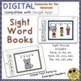 Sight Word Books Emergent Reader Distance Learning Google