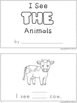 Sight Word Books ~ FREE SAMPLE