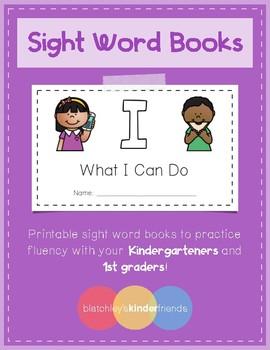 Sight Word Books - I