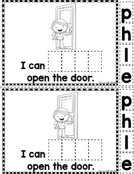 """Sight Word Books: I Can HELP"""" Interactive Reader"""