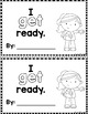 """Sight Word Books:  """"I GET Ready"""" Interactive reader"""