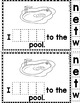"""Sight Word Books:  """"I WENT Out"""" Interactive reader"""
