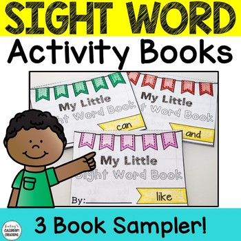 Sight Word Books - Kindergarten and 1st Grade Fluency - FREE SAMPLE PACK!