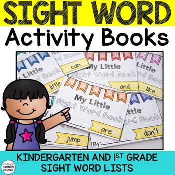 Sight Word Fluency Interactive Readers for K and 1st