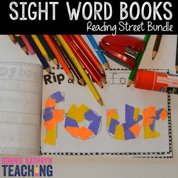Reading Street Sight Word Books
