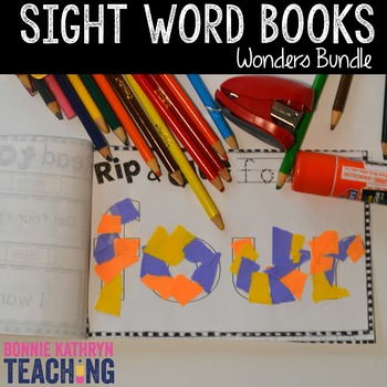 Wonders Sight Word Books