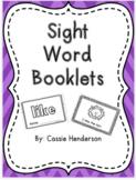 Sight Word Books, Journeys Units 1-6