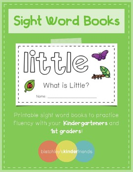 Sight Word Books - LITTLE