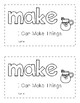 Sight Word Books - MAKE