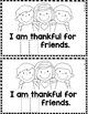 "Sight Word Books:  ""MY Thankful Book"" Thanksgiving reader"