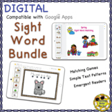 Sight Word Books Matching Google Activities Distance Learning