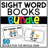 Sight Word Books BUNDLE  {50 Books}