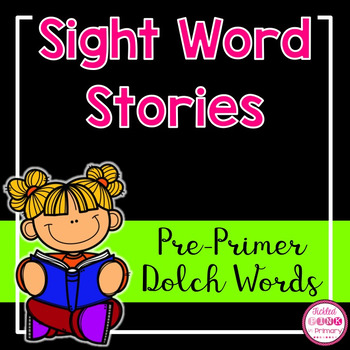 Sight Word Books (Pre-Primer Dolch Words)