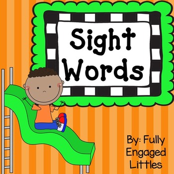Sight Word Books and Activities