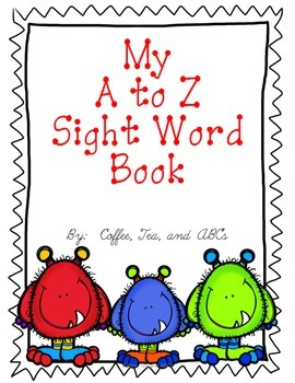 Sight Word Books: Reading and Writing