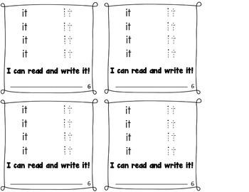 Sight Word Books - Set 1
