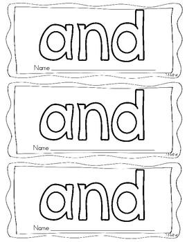 Sight Word Books Set #2