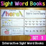 Sight Word Books - Set 3