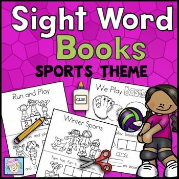 Sight Word Books: Sports Theme