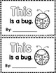 """Sight Word Books:  """"THIS is a Bug"""" Interactive reader"""