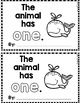 """Sight Word Books:  """"The Animal has ONE"""" Interactive reader"""