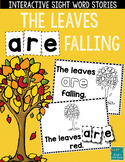 """Sight Word Books:  """"The Leaves ARE Falling"""" Fall reader"""