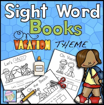 Sight Word Books: Vacation Theme