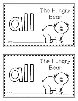 Sight Word Books (all)