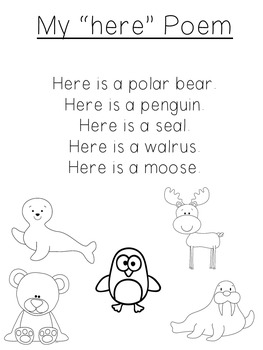Sight Word Books and Poems - Set 5