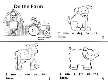 Kindergarten Guided Reading Books